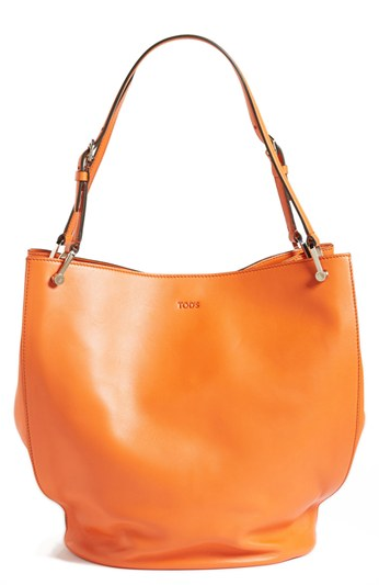Tod's  Secchiello Leather Tote