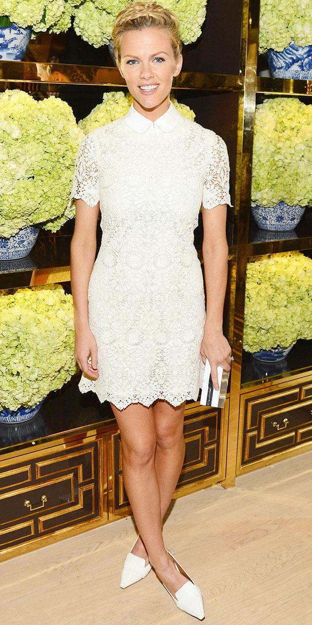 Brooklyn Decker Is A Standout At Tory Burch Store Opening