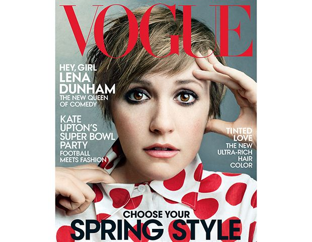 Lena Dunham Lands Vogue & Miley Cyrus Channels Donald Trump