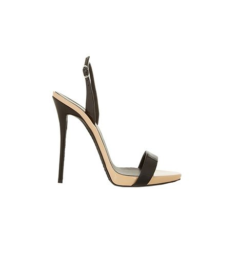Giuseppe Zanotti  Coline Two-Tone Patent-Leather Sandals