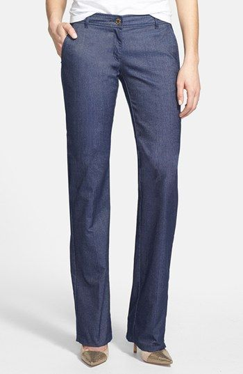 MICHAEL Michael Kors  Flare Leg Denim Trousers
