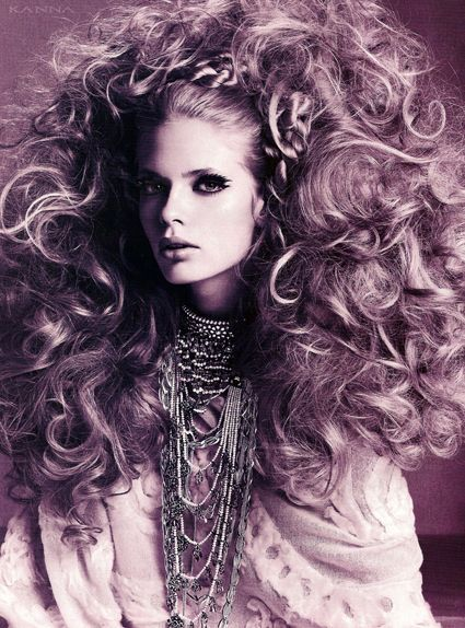 Julia Stegner and Vogue Italia Take Hair to New Heights