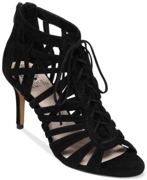 Vince Camuto  Nonzia Lace Up Sandals