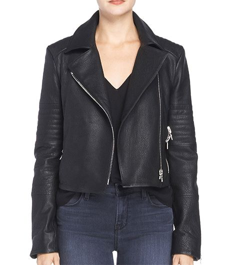 J Brand J Brand Aiah Leather Jacket