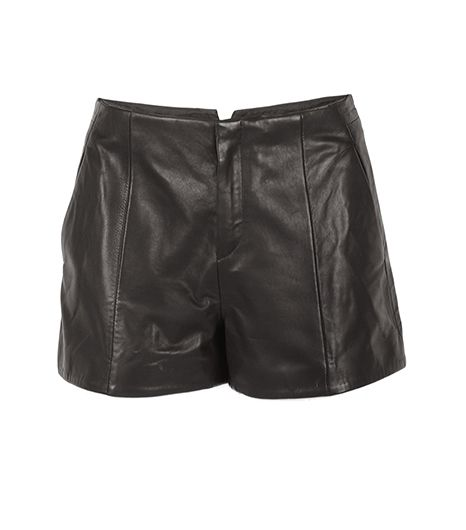 Rag and Bone Rag and Bone Em Leather Shorts