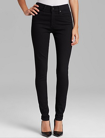 AG The High Rise Farrah Skinny Jeans