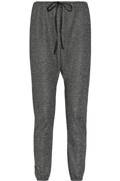 CLU  Metallic Jersey Harem Pants