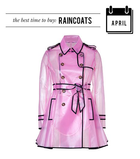 April: Raincoats