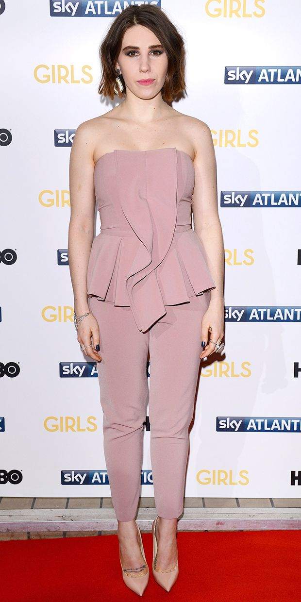 Zosia Mamet Is Radiant In The Season's Must-Have Color