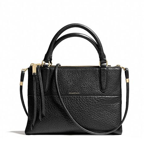 Coach Black Mini