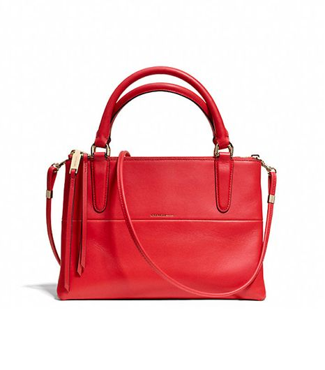 Coach Red Mini