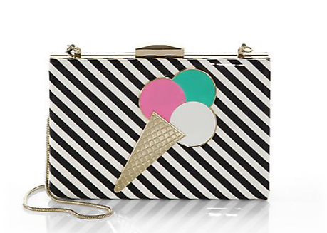 Kate Spade New York Miss Penny's Emanuelle Vinyl Ice Cream Clutch