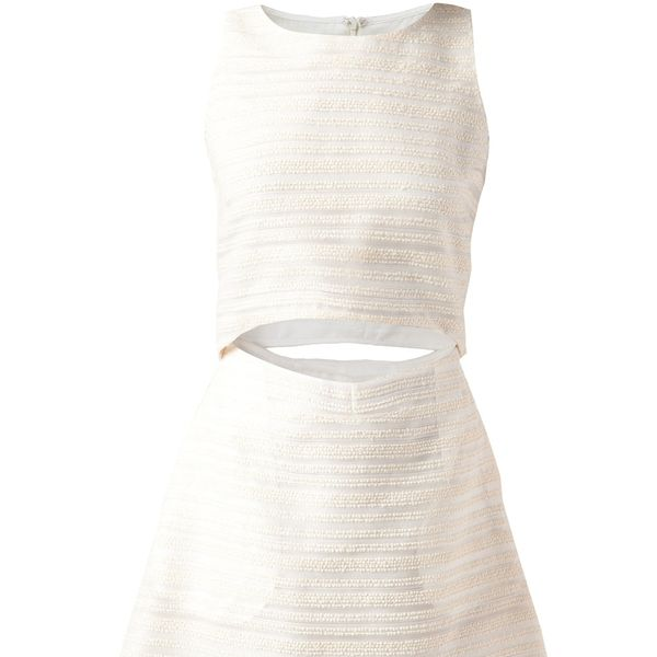 Thakoon Addition  Cut Out Dress