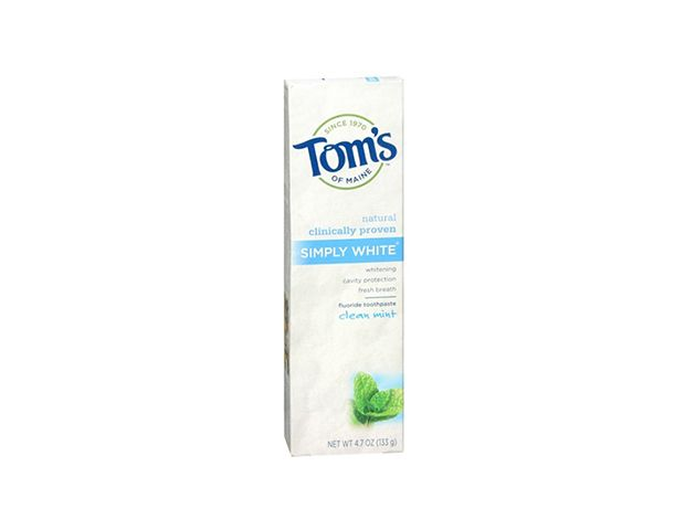 Tom's of Maine Simply White Natural Toothpaste