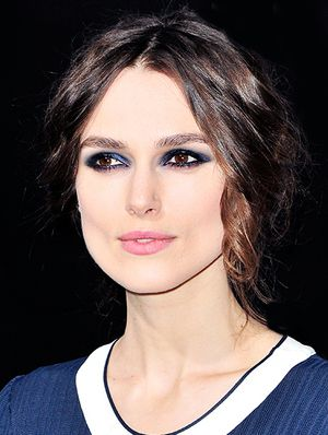 How To Master Keira Knightley's Matte Blue Makeup