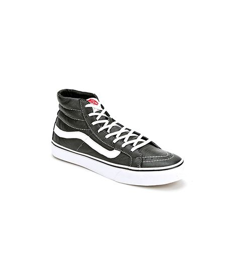 Vans  Sk8-Hi Slim Leather Women's High-Top Sneaker