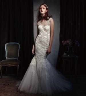 Monique Lhuillier S/S 2014 Bridal Campaign