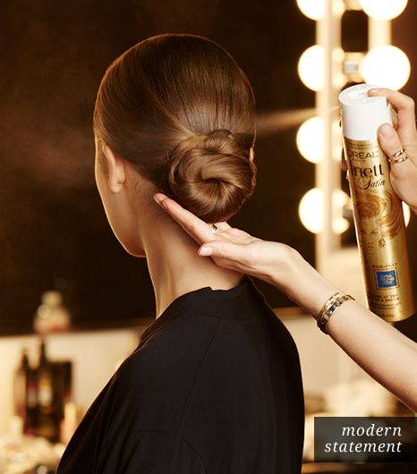 Hair: Finish With Hairspray