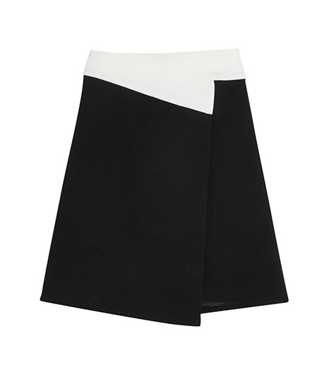 Joseph Tammy Crepe Wrap Skirt ($445)