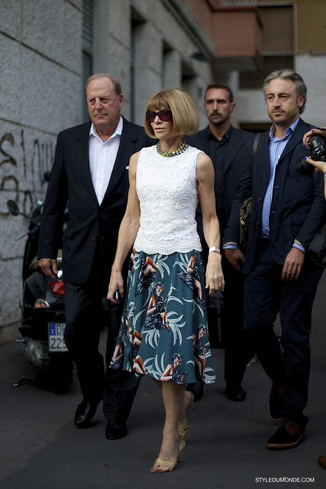 Anna Wintour, Editor-In-Chief of Vogue and Artistic Director of Conde Nast