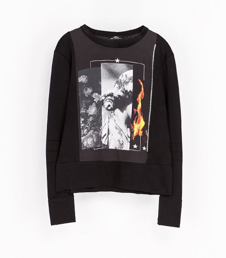 Zara Mercerized Sweatshirt
