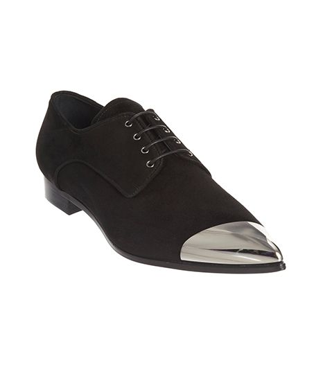 Miu Miu Asymmetric Cap Toe Oxford
