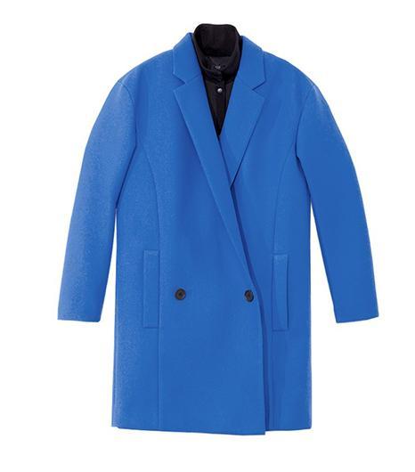 Tibi Bonded Techy Twill Coat
