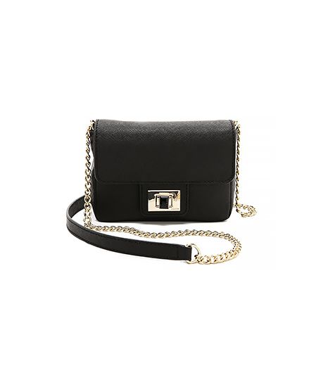 Juicy Couture Sophia Mini Bag ($118) in Black