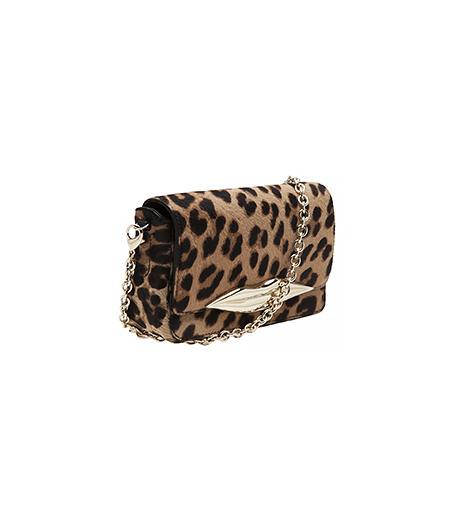 Diane Von Furstenberg Leopard Flirty Mini Crossbody