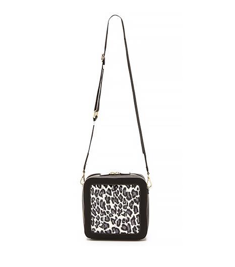 Meredith Wendell Square Snakeskin Bag ($149)