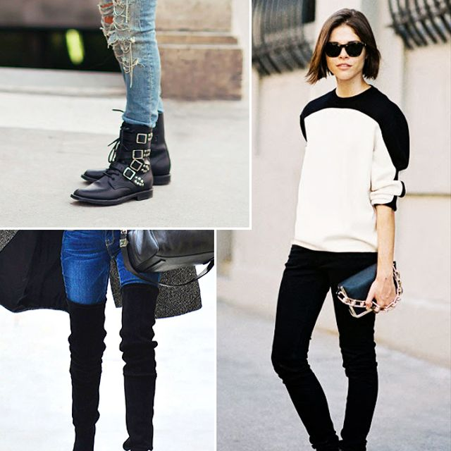 Style 101: How to Wear Your Jeans With Boots