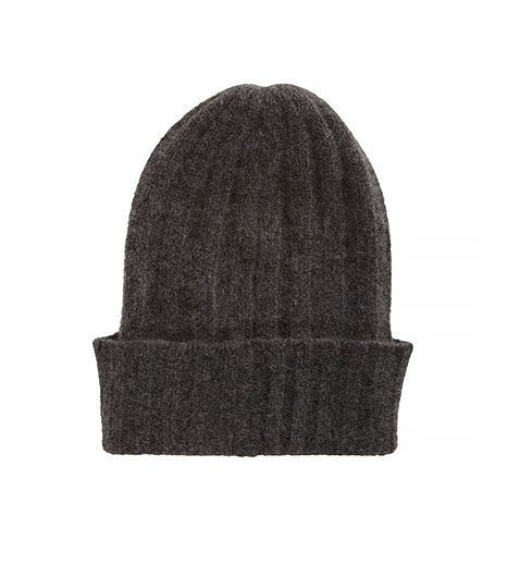 The Elder Statesman  English-Rib Bunny Echo Beanie