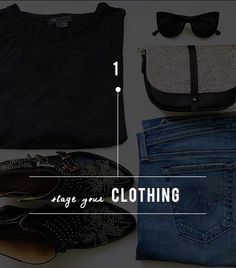 Tip One: Strategically Stage Clothing 