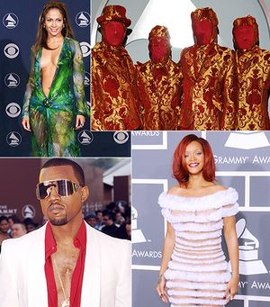 The Most Outrageous Grammy Looks Of All Time