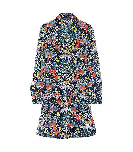 Marc by Marc Jacobs  Maddy Printed Silk Shirt Dress