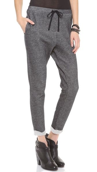 LA't by L'Agence  Drawcord Sweatpants