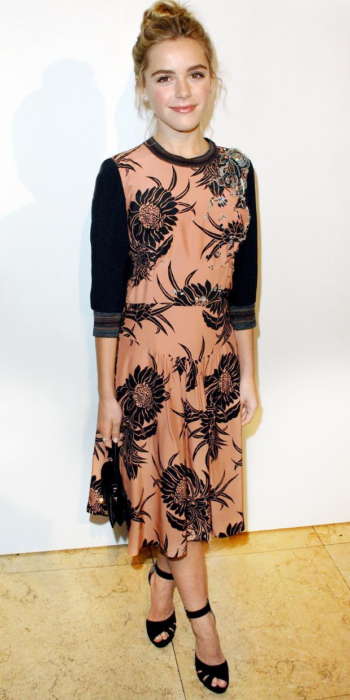 Kiernan Shipka Is Best Dressed At Elle Women In Television Event