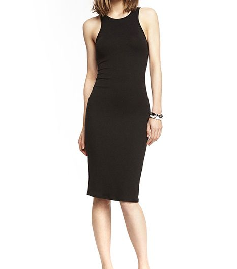 Express Knit Midi Sheath Dress
