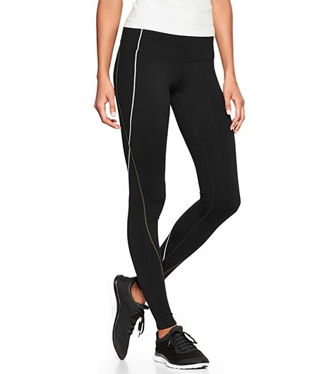 Gap Fit gFast Contrast-Stitch Leggings