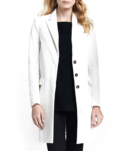 Theory  Lavanya Calf-Hair Coat