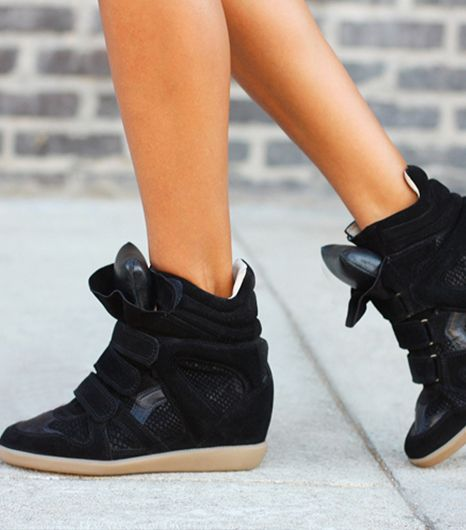 18. Wedge Sneakers 