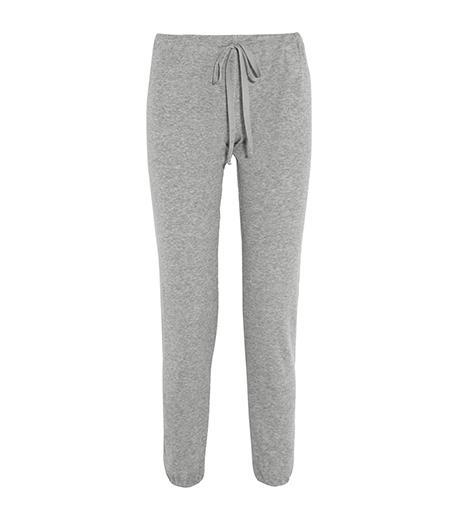 Clu  Clu Cotton and Cashmere-blend Track Pants