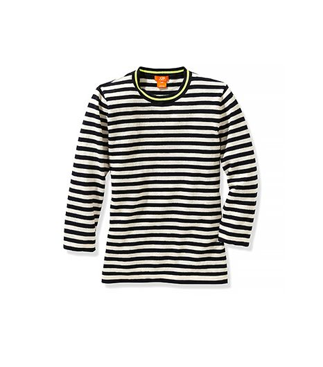 Joe Fresh  Stripe ¾ Sleeve Sweater