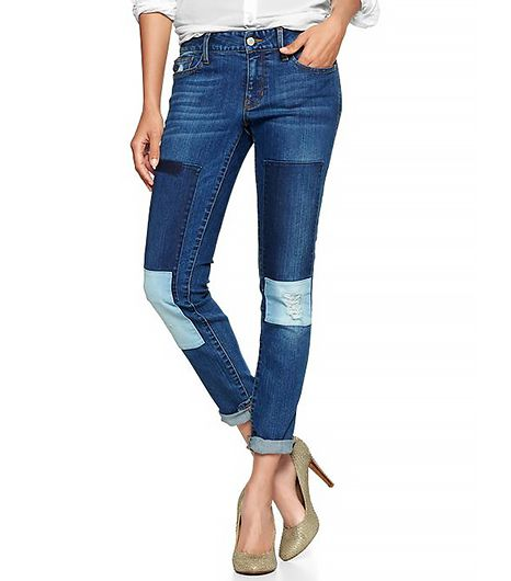 Gap 1969  Patched Always Skinny Jeans