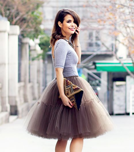 The Feminine Skirt All The Bloggers Are Wearing