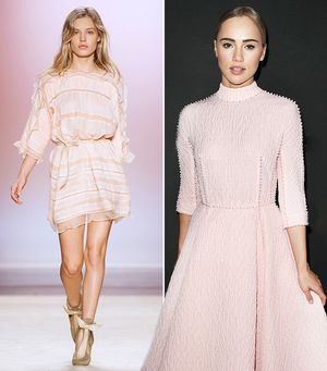 Trend Report: The Delicate Color That's Perfect For Date Night