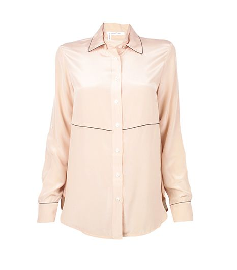 10 Crosby Derek Lam 10 Crosby Derek Lam Double Collar Blouse