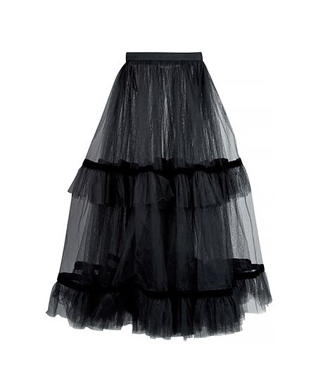 Yves Saint Laurent  Vintage Tulle Skirt
