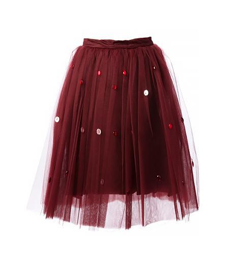 Au Jour Le Jour  Tulle Skirt