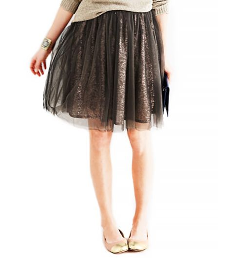 Garnet Hill  Modern Party Skirt